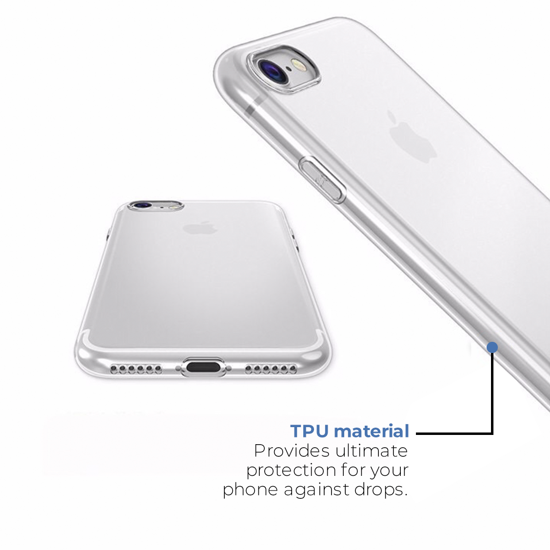 Acente Clear protective case for iphone 8 & iphone 7 | AmaxMarket.com