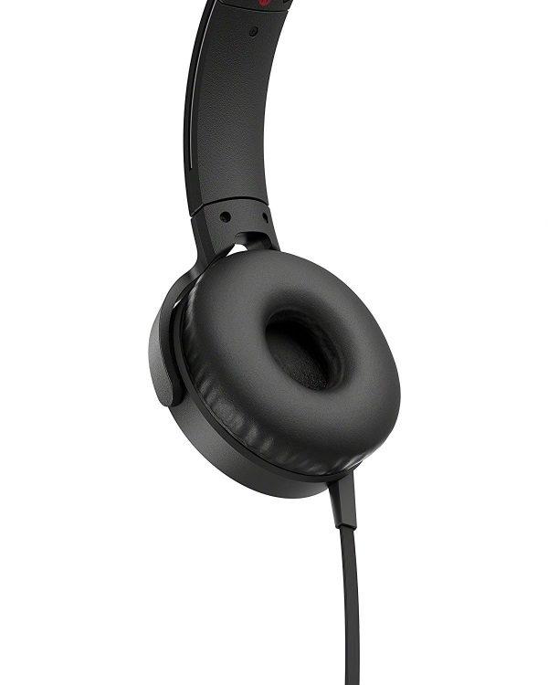 Black Sony Mdr-xb550ap buy at amaxmarket.com