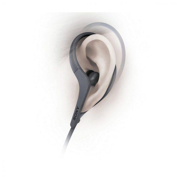 Sony MDR-AS410 Active Sport Headphones Black/White_at amaxmarket.com