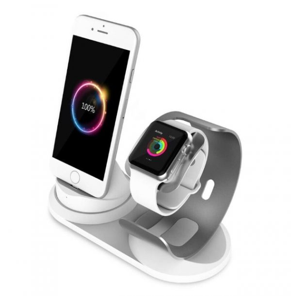 Apple Watch and iPhone Stand Charging Dock Station| Amaxmarket.com