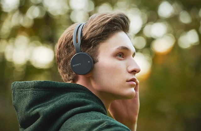 Sony WH-CH400 Wireless on-ear | Black | Amaxmarket.com