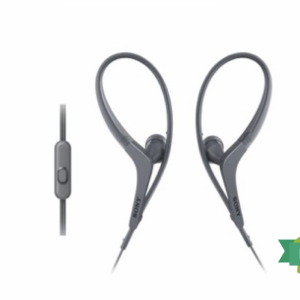 Sony | MDR-AS410 Active Sport Headphones | Black/White | Amaxmp.com