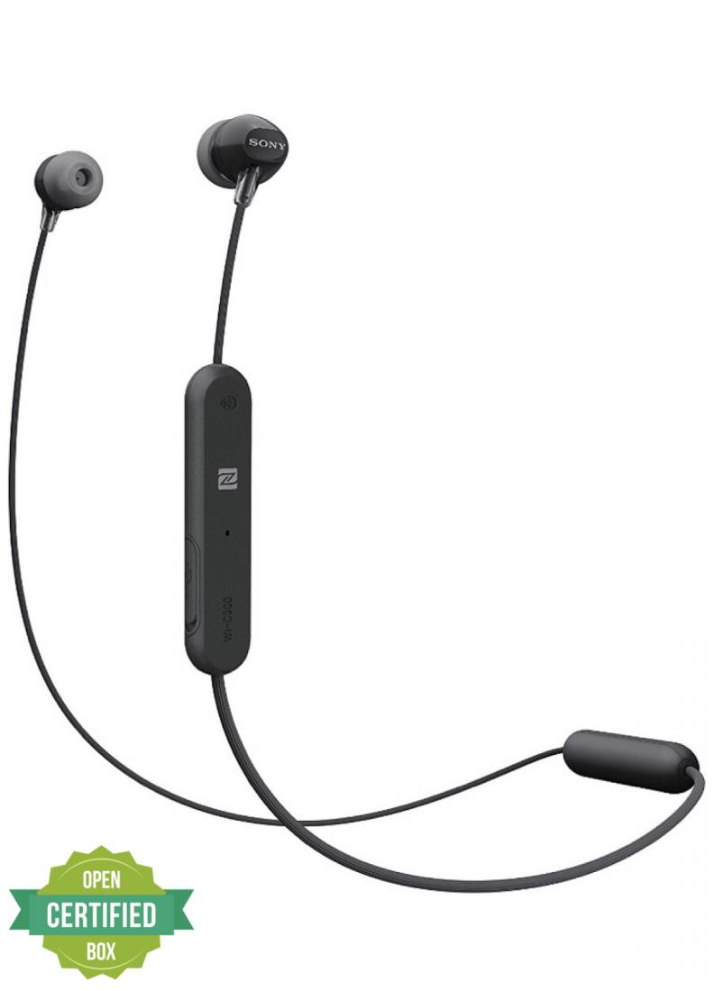 Sony WI-C300 Wireless In-ear | Black | Amaxmp.com
